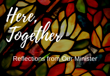 Reflections from Rev. Nicoline